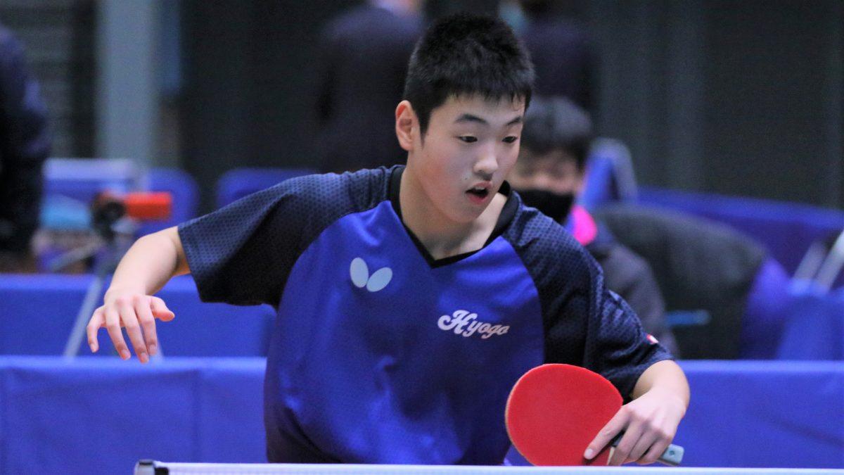 全日本卓球男子シングルス1回戦結果 最年少の中1・谷本が初戦突破