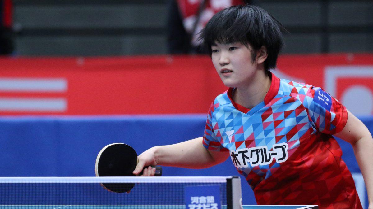 2021年度卓球女子ナショナルチーム発表 16歳木原美悠が新たにNT入り