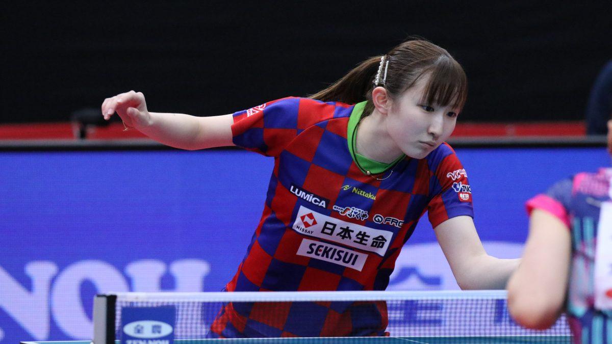 女子は早田が優勝 昨季プロ転向の安藤は準優勝で代表内定<アジア卓球選手権予選>