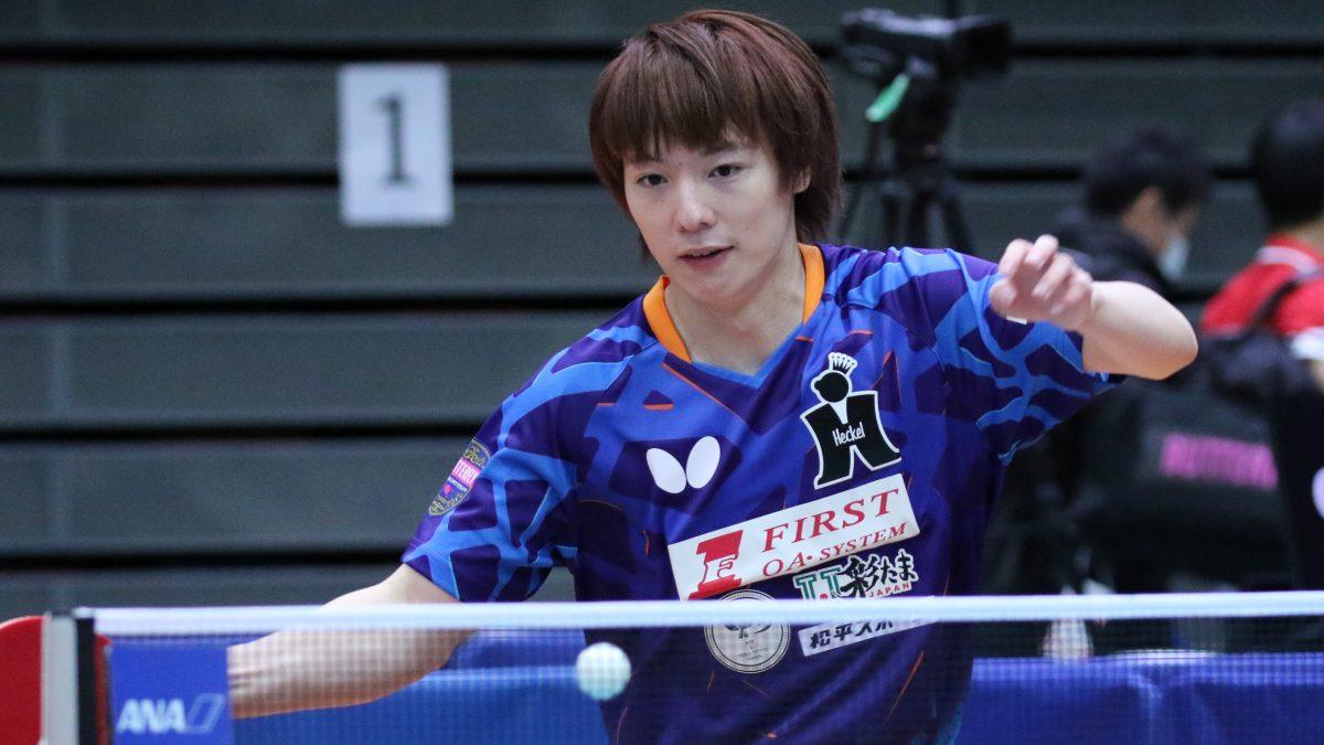 卓球全日本男子単2回戦始まる Tリーガーが続々登場