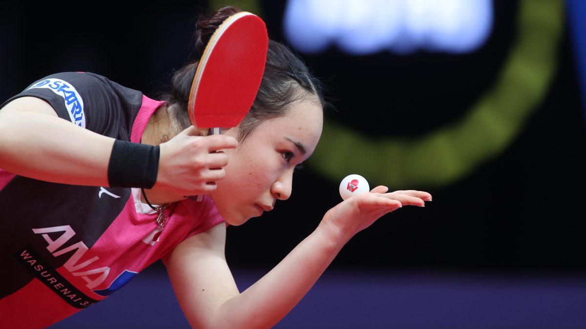 卓球・世界ランキング 日本勢は伊藤が3位 女子ダブルスでは長﨑/木原が1位