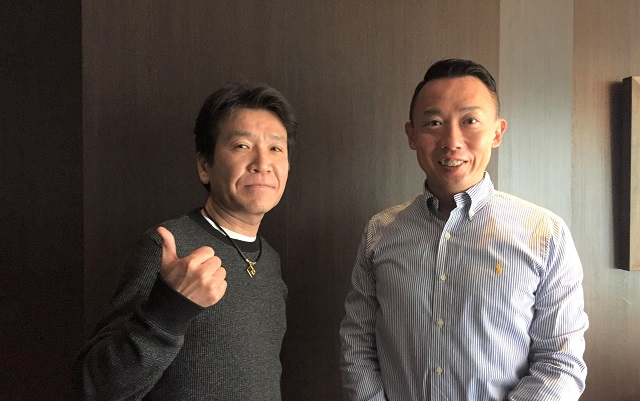 写真:早川周作氏と喜多埜裕明氏/提供:琉球アスティーダスポーツクラブ