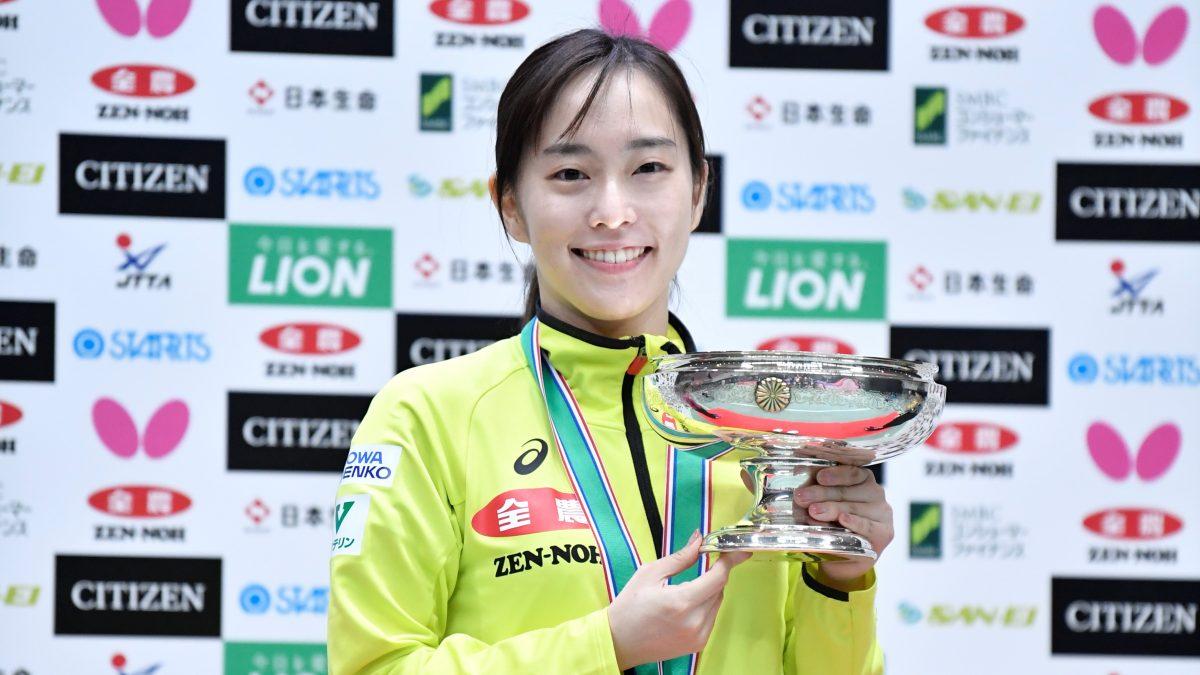 """卓球全日本女子シングルスベスト16 栄誉ある""""ランカー""""入りを果たした選手は"""