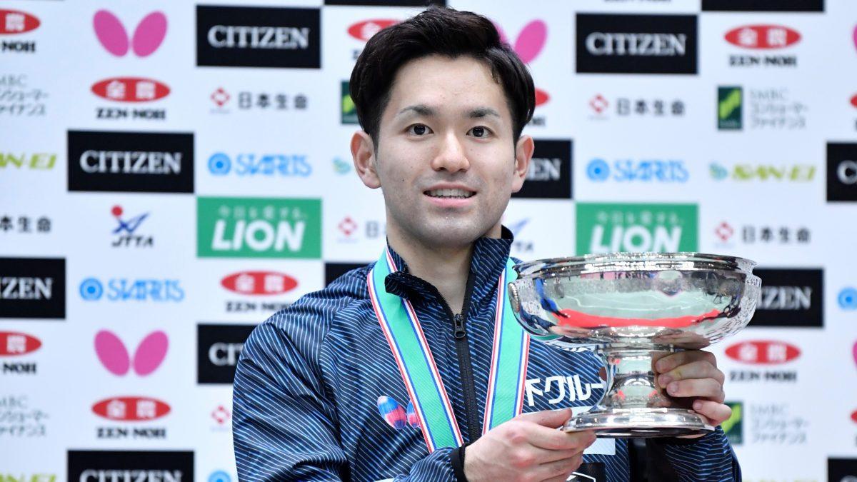 """栄誉ある""""ランカー""""の称号を得た選手たち 卓球全日本男子シングルスベスト16"""