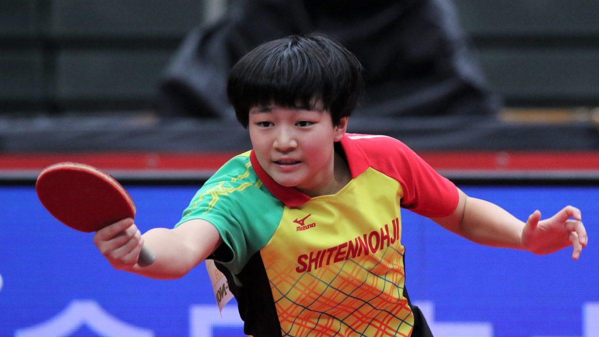 勢い目立つ2年生が8シード7枠を占める 卓球・インターハイ女子シングルス組み合わせ