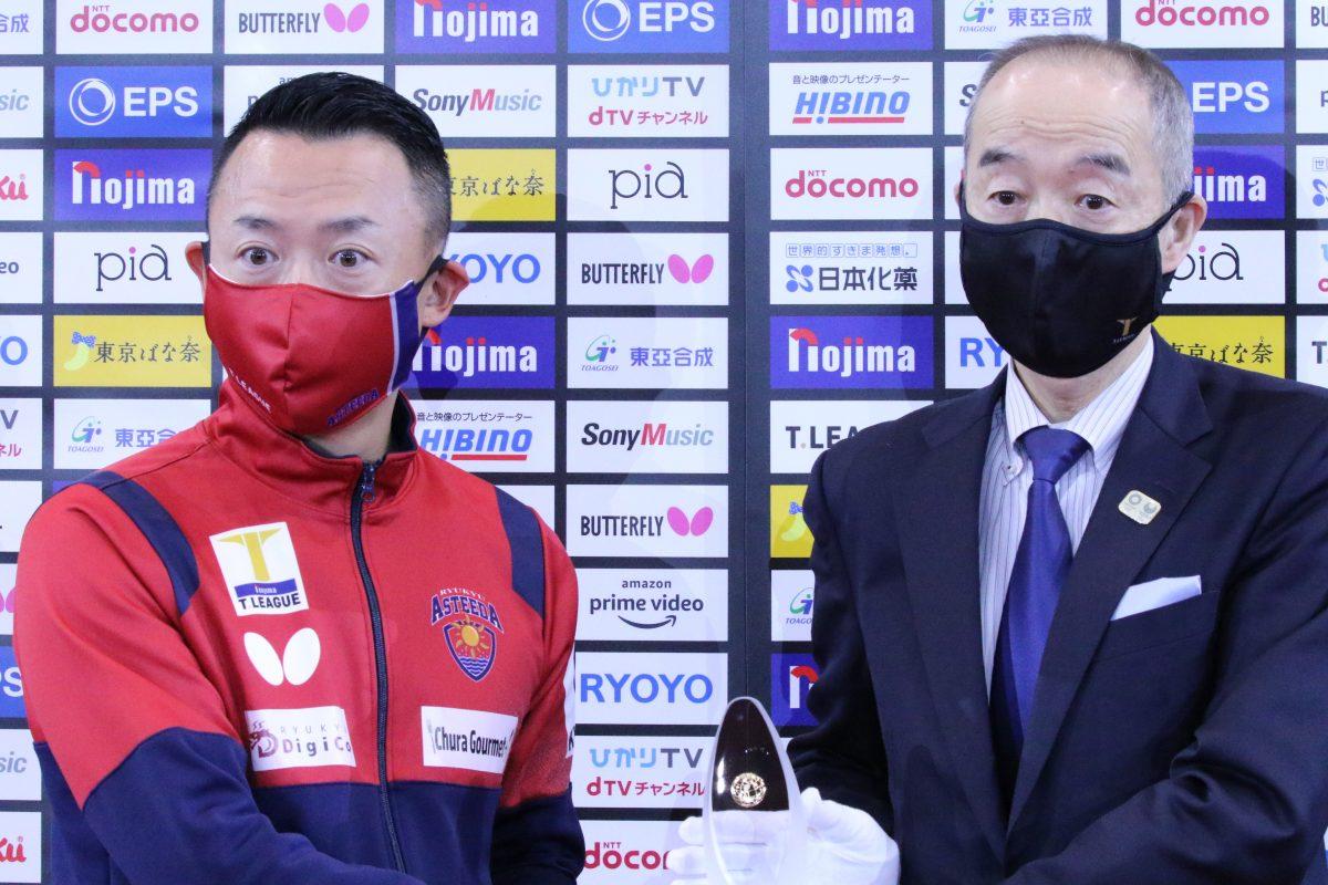 写真:琉球アスティーダ代表の早川周作氏(写真左)/撮影:ラリーズ編集部