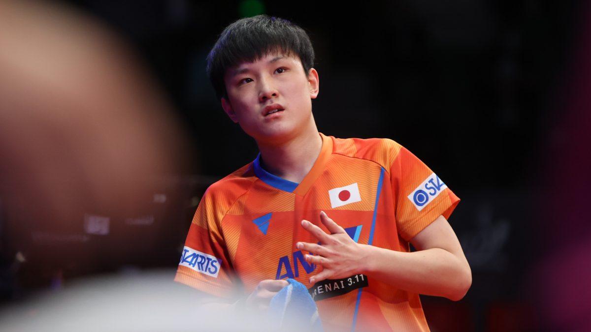 卓球男子世界ランキング(2021年第7週発表) 順位変わらず張本5位 ポイントが微減