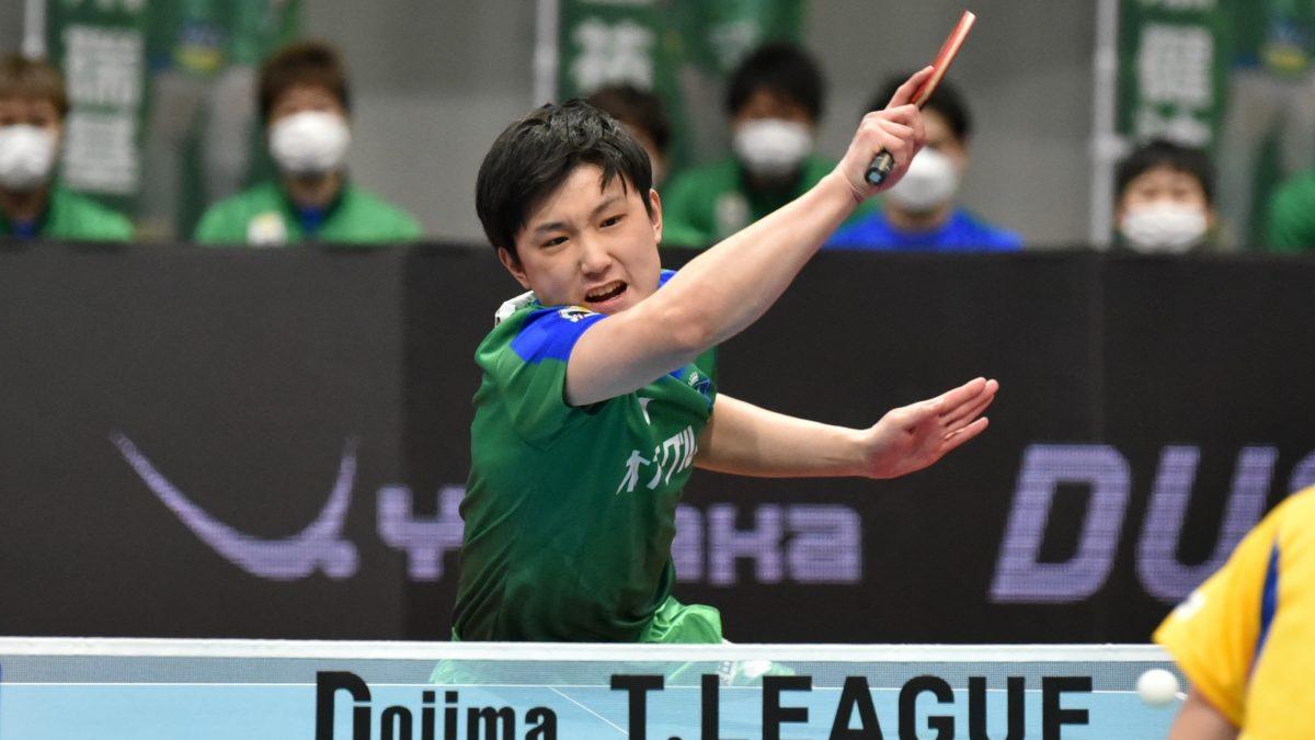張本智和「日本のエースである以上、負けるわけにいかない」木下、最終戦でリーグ1位
