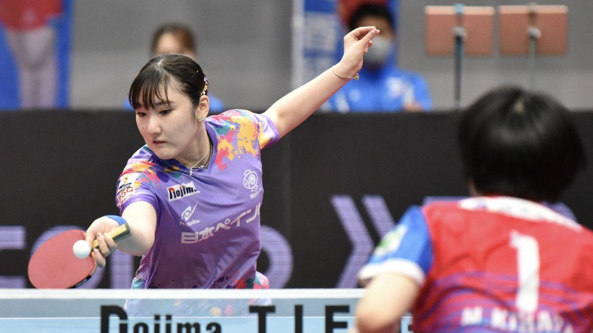 加藤美優、木原美悠がTリーグ最多の17勝