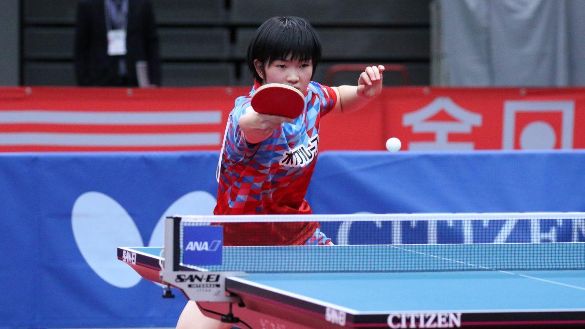 16歳・木原美悠、同世代の五輪韓国代表に完封勝利<卓球・WTTコンテンダードーハ>