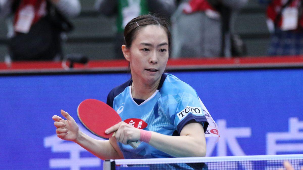 石川佳純、背中の痛みで大事を取り棄権<卓球・ビッグトーナメント>