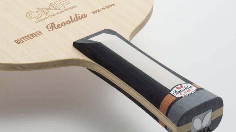 卓球・レボルディアCNFを徹底解説!新素材がもたらすこれまでにない打球感を実現
