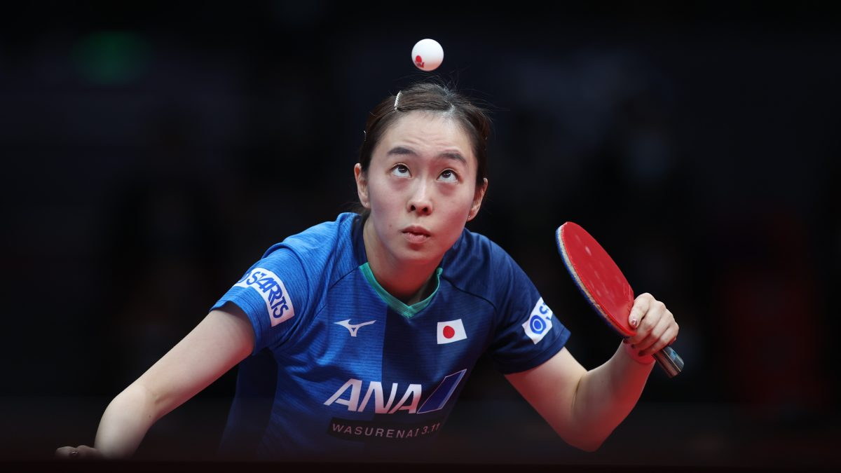全日本女王・石川佳純、我慢の勝利 苦しみながらも3回戦へ<卓球 WTTスターコンテンダードーハ>