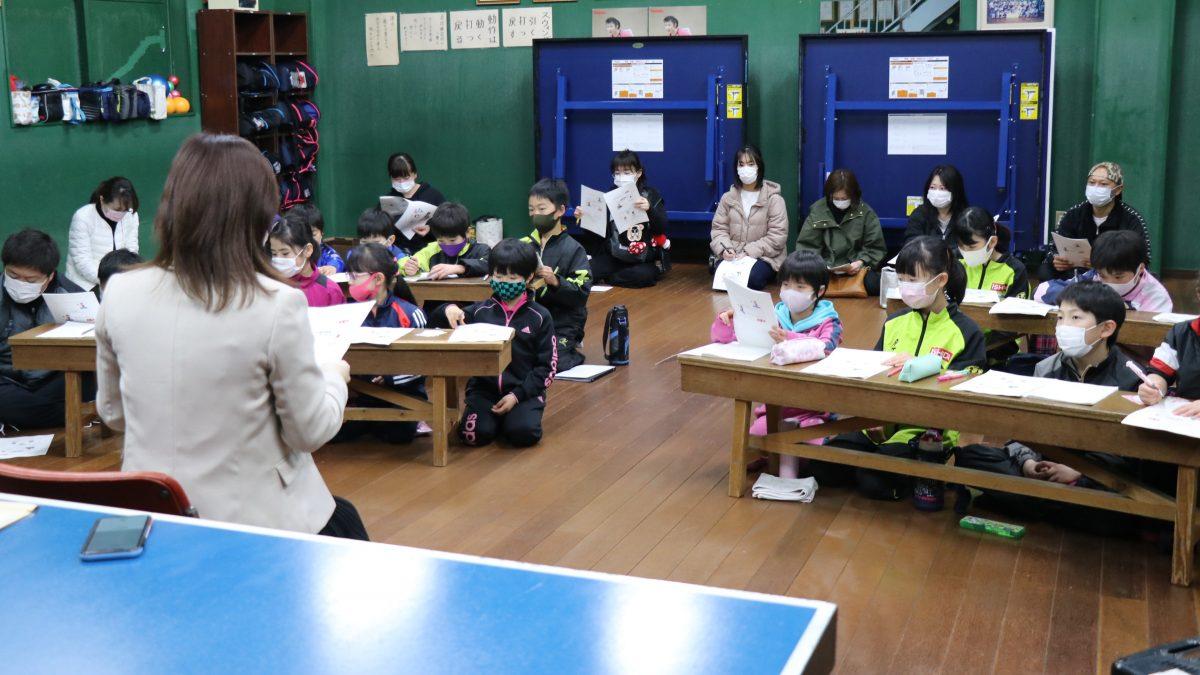 「子どもたちにも食事の大切さを」石田卓球N+で栄養学教室開催