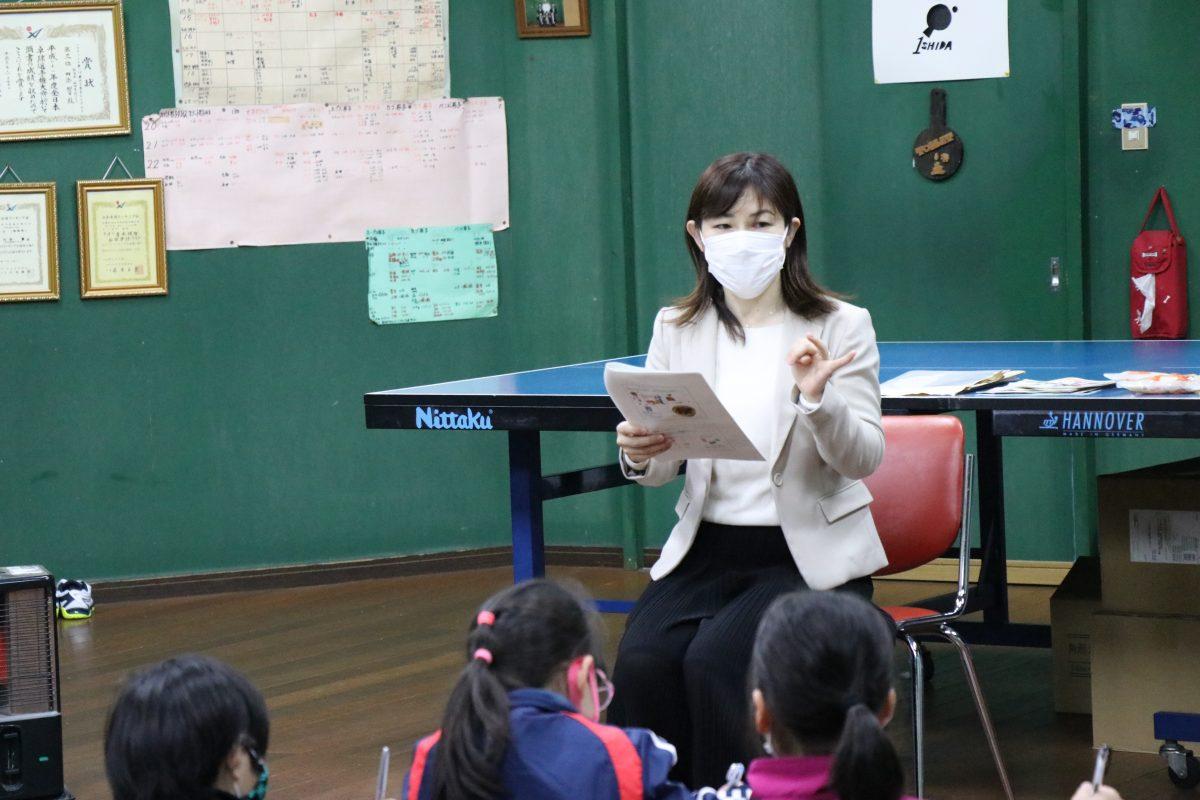 写真:栄養学教室「PING PONG(ピンポン)ごはんプロジェクト」の様子/提供:JA全農