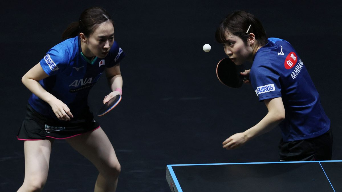 卓球女子世界ランキング(2021年第11週)|石川/平野ペア、女子ダブルスランク1位に