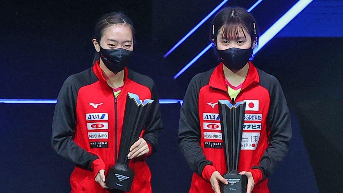 伊藤美誠、石川/平野ペアが新大会WTTで戴冠 次大会は水谷隼、丹羽孝希も参戦