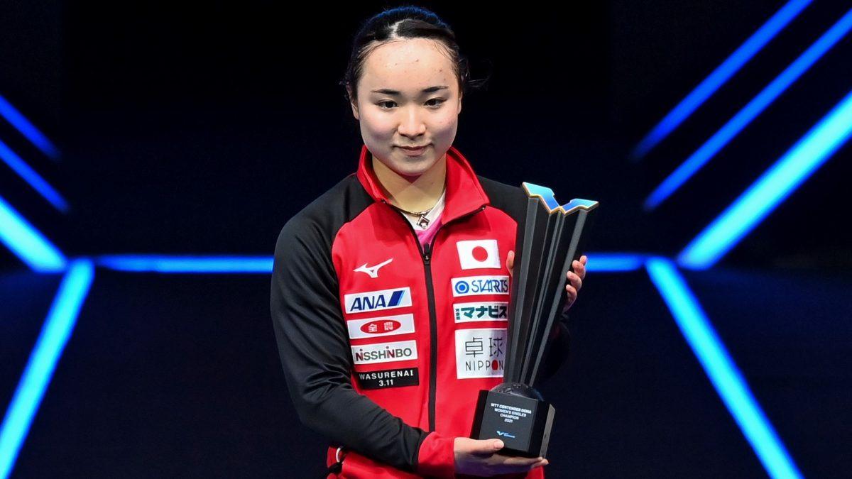 卓球女子世界ランキング(2021年第10週) WTT優勝の伊藤美誠、自己最高タイの2位返り咲き