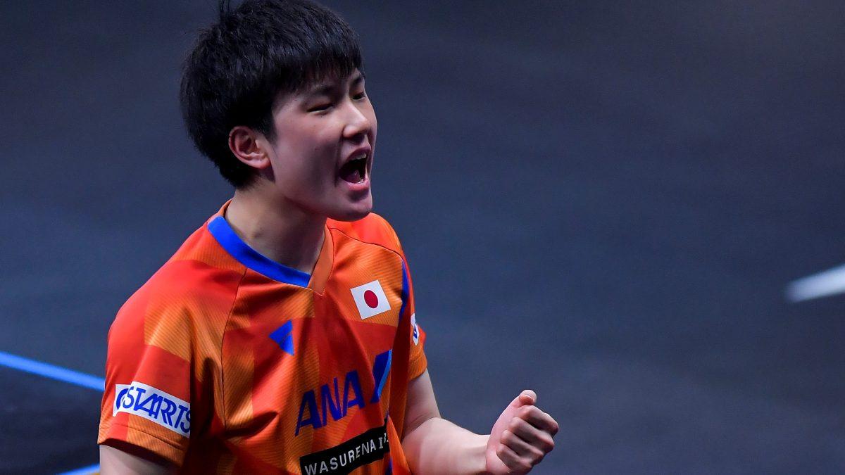 張本智和「皆さんに優勝を届けられて嬉しい」 3.11から10年、節目の国際大会優勝し帰国
