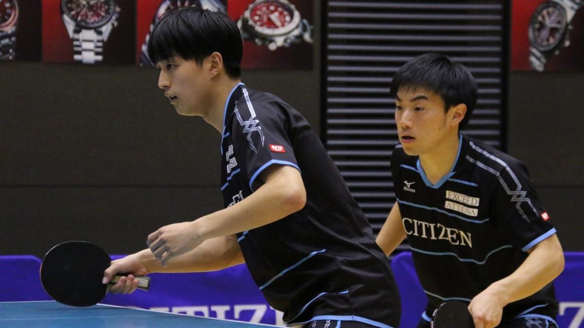上村・三部ペア好発進 女子複は1勝がカギを握る展開に<卓球・ビッグトーナメント>
