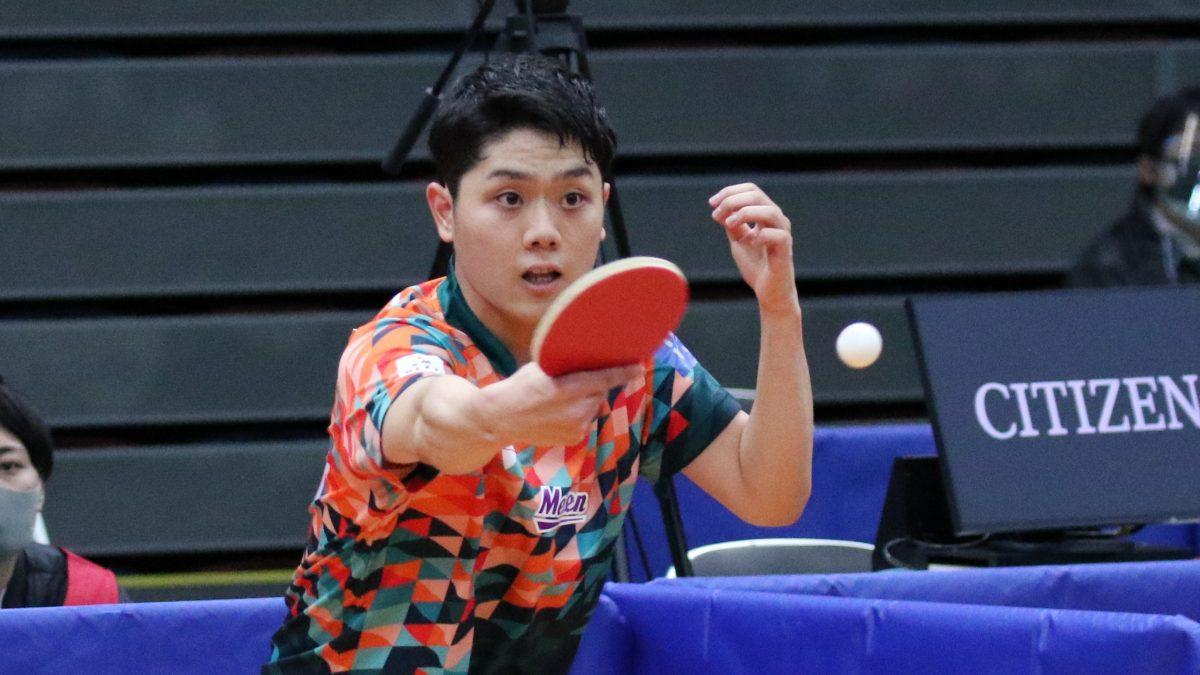 Tリーグベストペア賞の曽根翔は愛工大へ 東海学生卓球連盟の有力新人選手