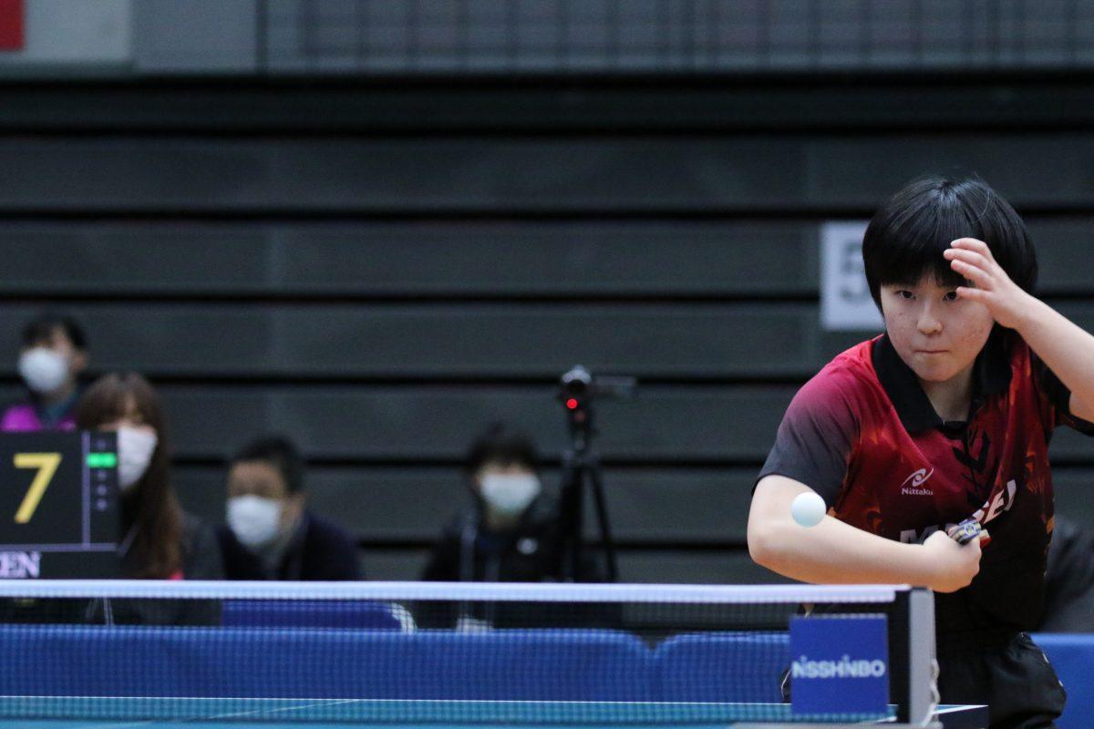 写真:2021年全日本選手権での森岡恭加/撮影:ラリーズ編集部