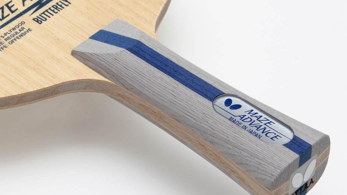 卓球・メイス アドバンスを徹底分析!純木材で人気のラケットがリニューアル
