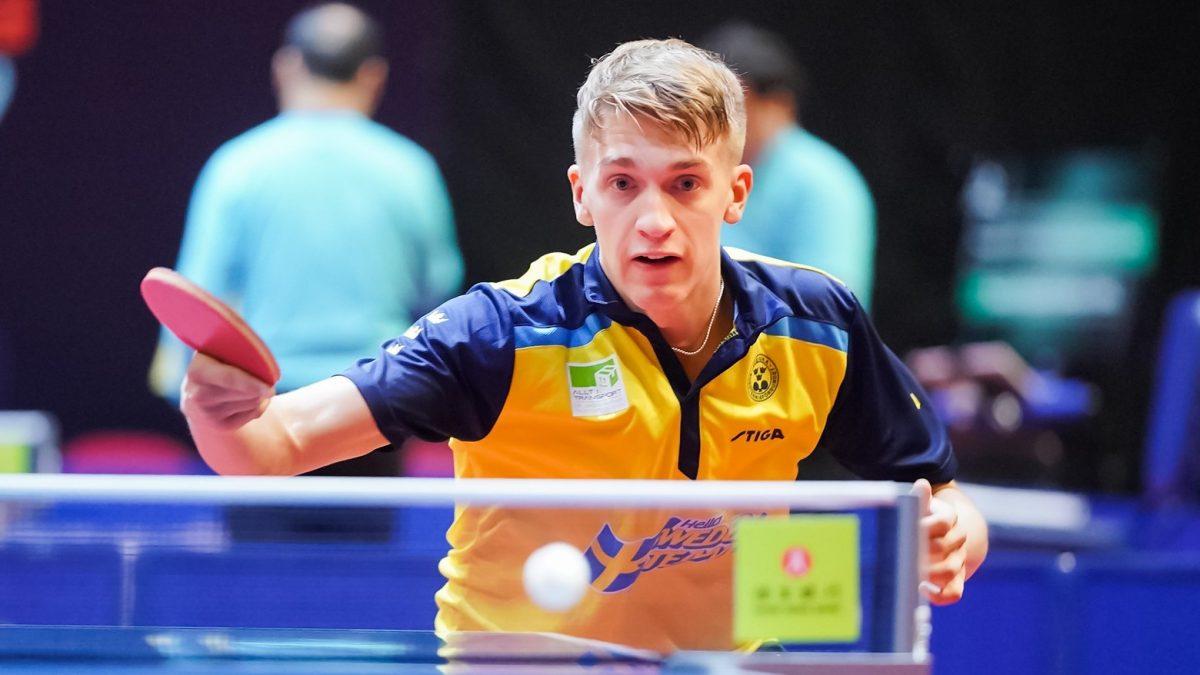 東京五輪卓球競技、スウェーデン男子代表 ブンデス25勝のケルベリが初選出