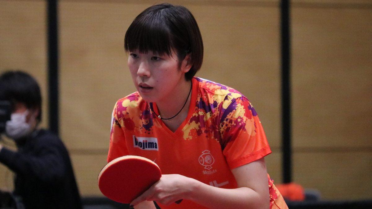 日本ペイントマレッツ、2018年全日本3位の永尾尭子と契約更新 昨季はダブルス6勝