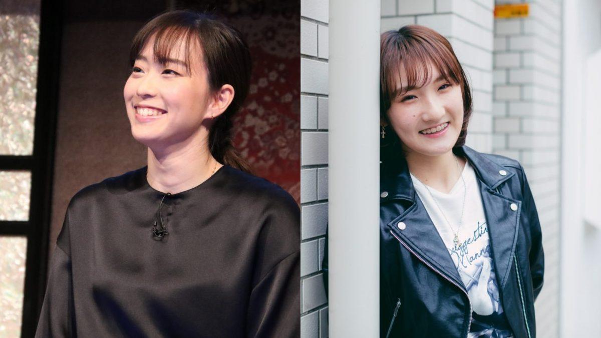 「カワイイコンビ」 石川佳純と加藤美優、リラックスしたツーショットを披露