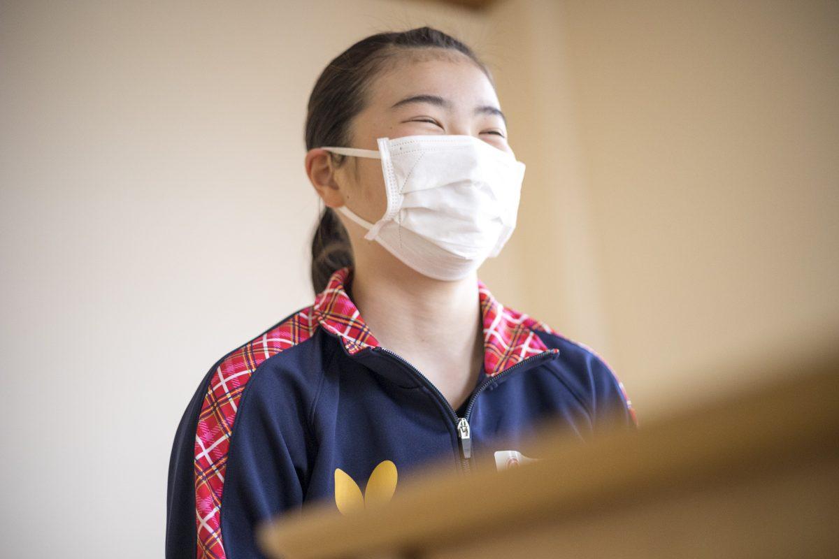 写真:倉嶋杏奈(貝塚第二中)/撮影:槌谷昭人