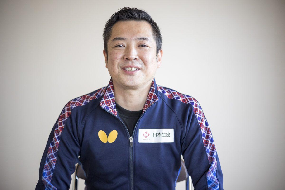写真:竹谷康一コーチ(日本生命レッドエルフ)/撮影:槌谷昭人