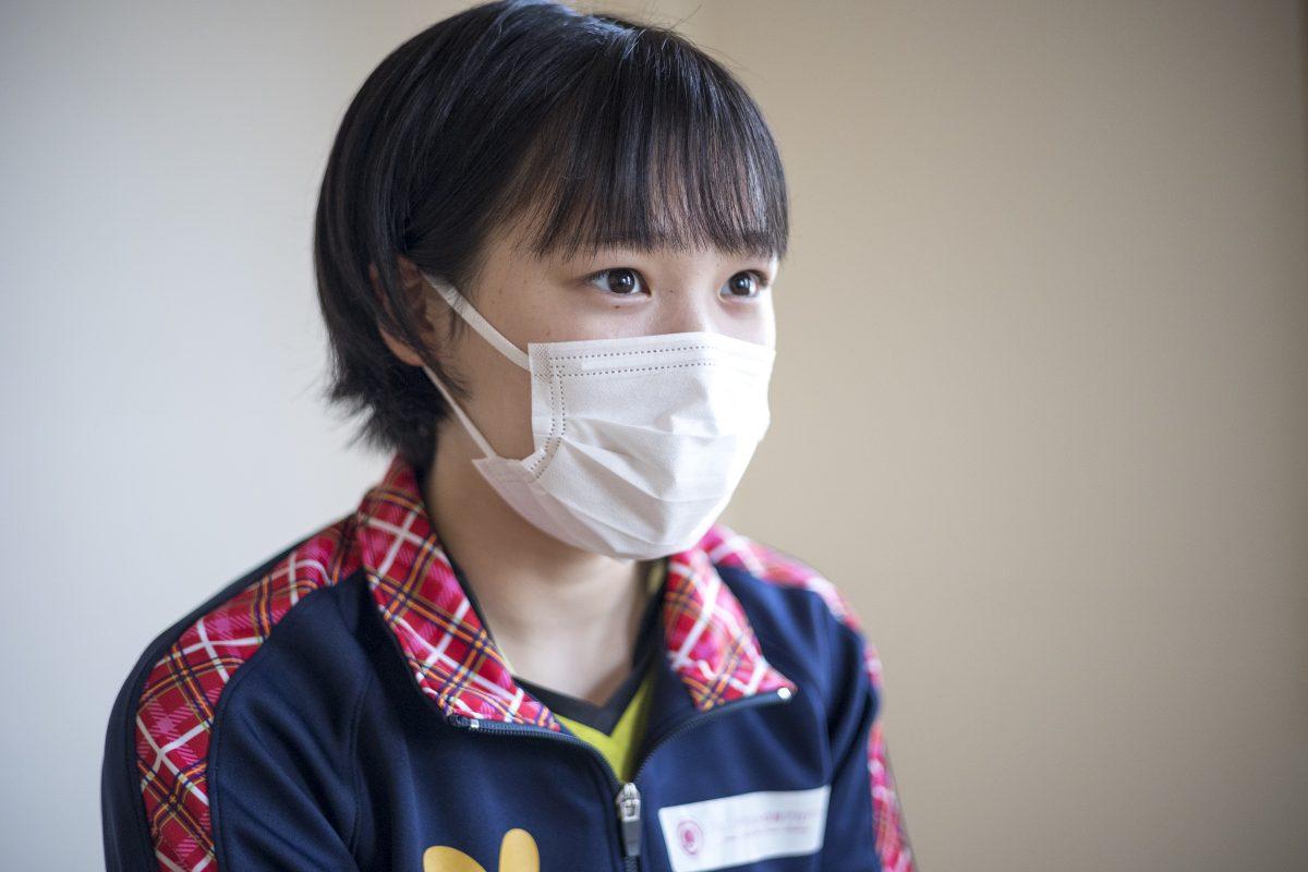 写真:上澤杏音(貝塚第二中)/撮影:槌谷昭人