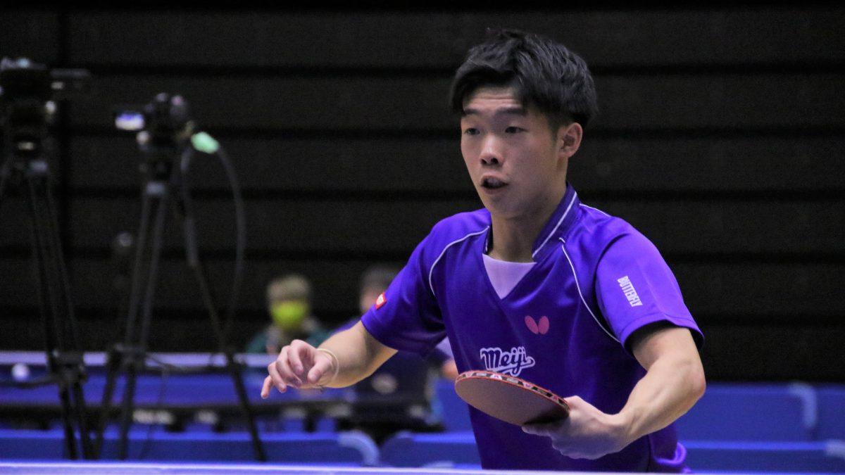 2020全日本複準優勝・宮川昌大、琉球アスティーダからTリーグ参戦 名門野田学園高出身