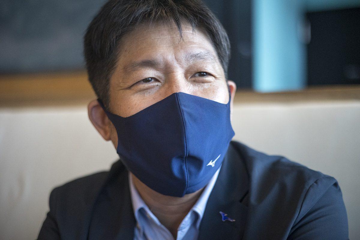 写真:玉山茂幸(ミズノ)/撮影:槌谷昭人
