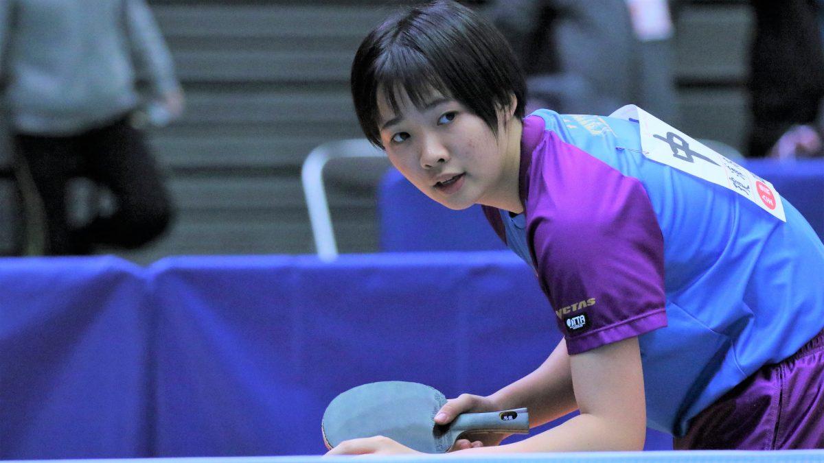 全日本出場の中道が女子単で優勝 団体では鎮西学院がV<卓球・インターハイ長崎県予選>