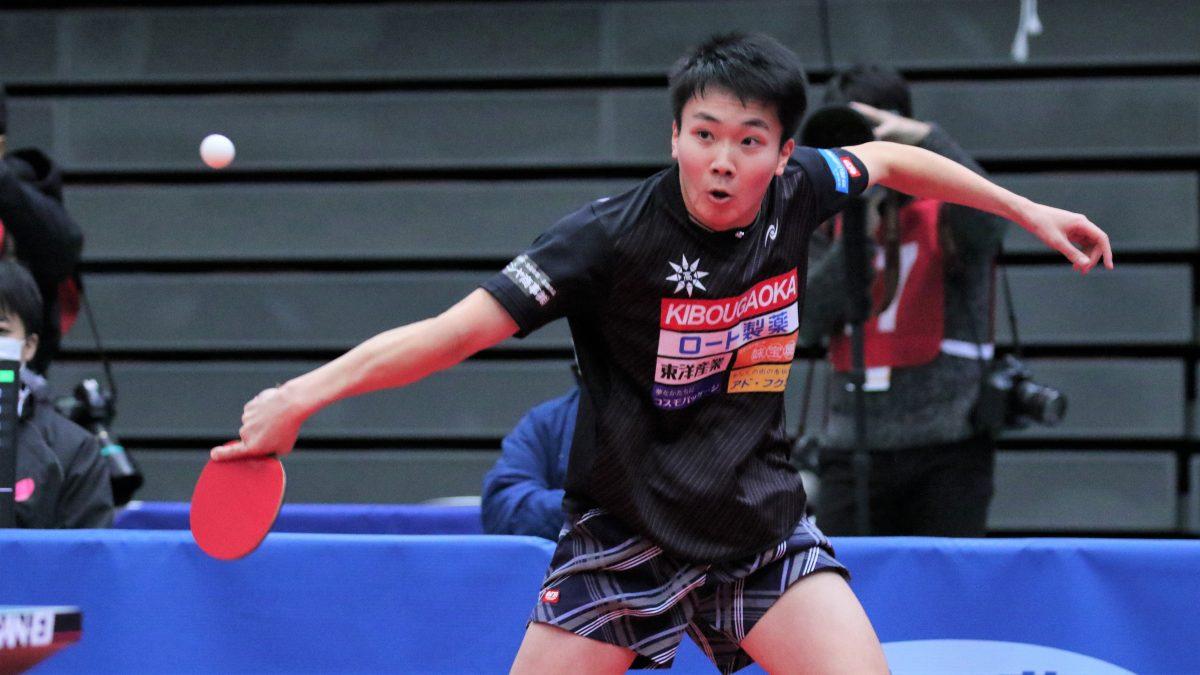 卓球ドリームマッチの対戦相手変更 原田春輝(希望が丘)が新たに招聘