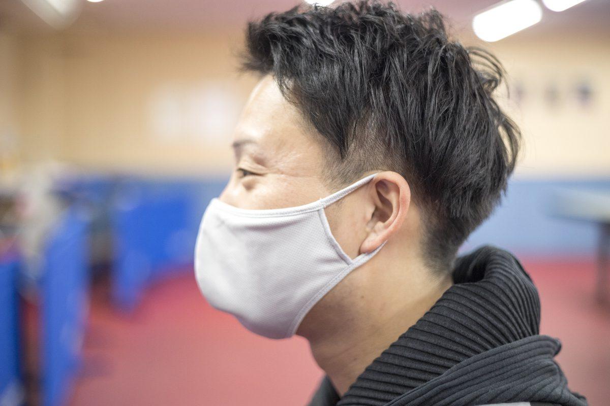 写真:金森翼(関西卓球アカデミー)/撮影:槌谷昭人