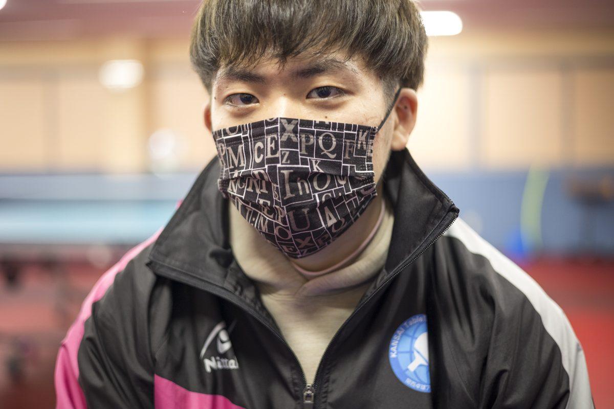 写真:坂根翔大(関西卓球アカデミー)/撮影:槌谷昭人