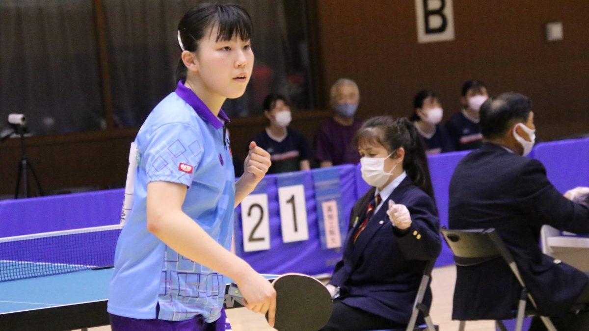 インハイ単複準優勝・岡田琴菜、トップ名古屋からTリーグ参戦