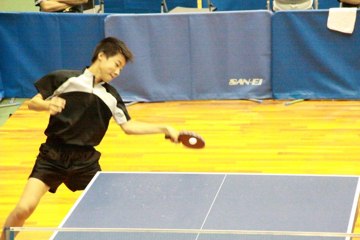 写真:全日本選手権ホープスの部での多田浩嗣/提供:本人