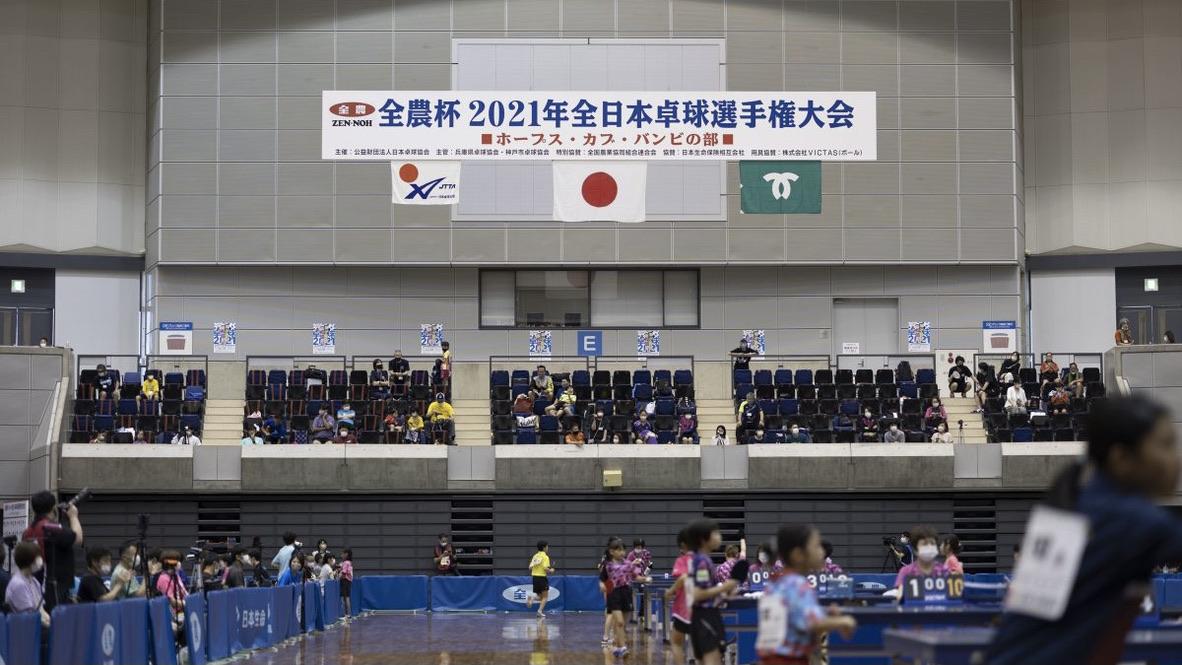 次世代を担う小学生選手たちの熱戦続く<卓球・全日本ホカバ2日目>