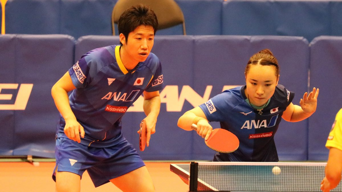 水谷隼/伊藤美誠、第2シードもハイレベルな山に 東京五輪卓球新種目・混合ダブルス