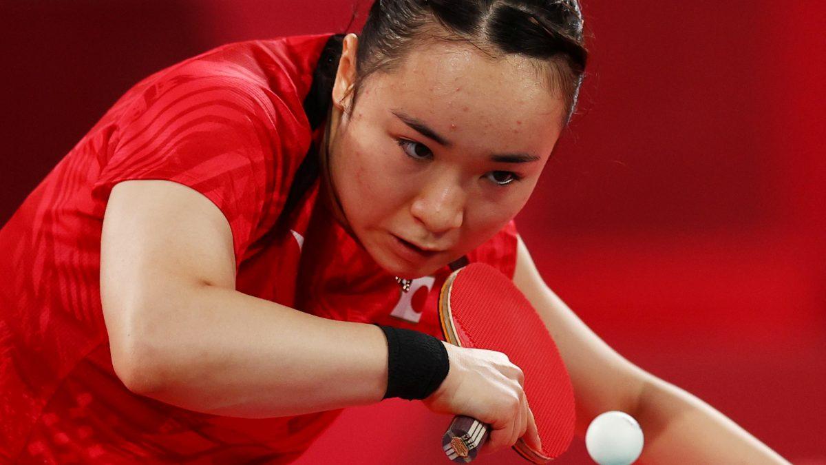 【五輪卓球】伊藤美誠、圧勝でシングルス4強入り 2冠まであと2つ