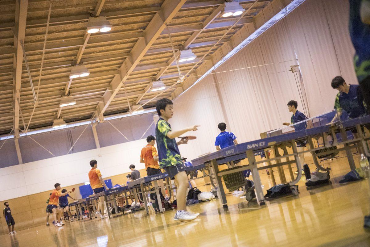 写真:湘南工科大附高の練習風景/撮影:槌谷昭人