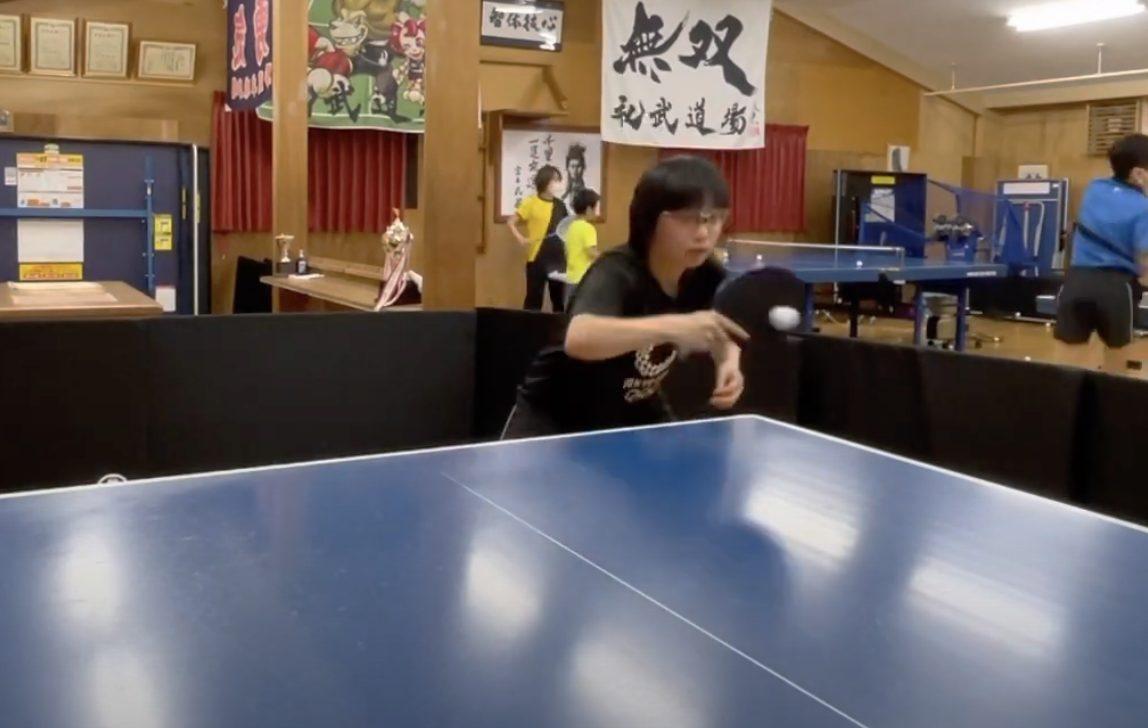 高校卓球、礼武卓球道場、原田隆雅、宗萌美
