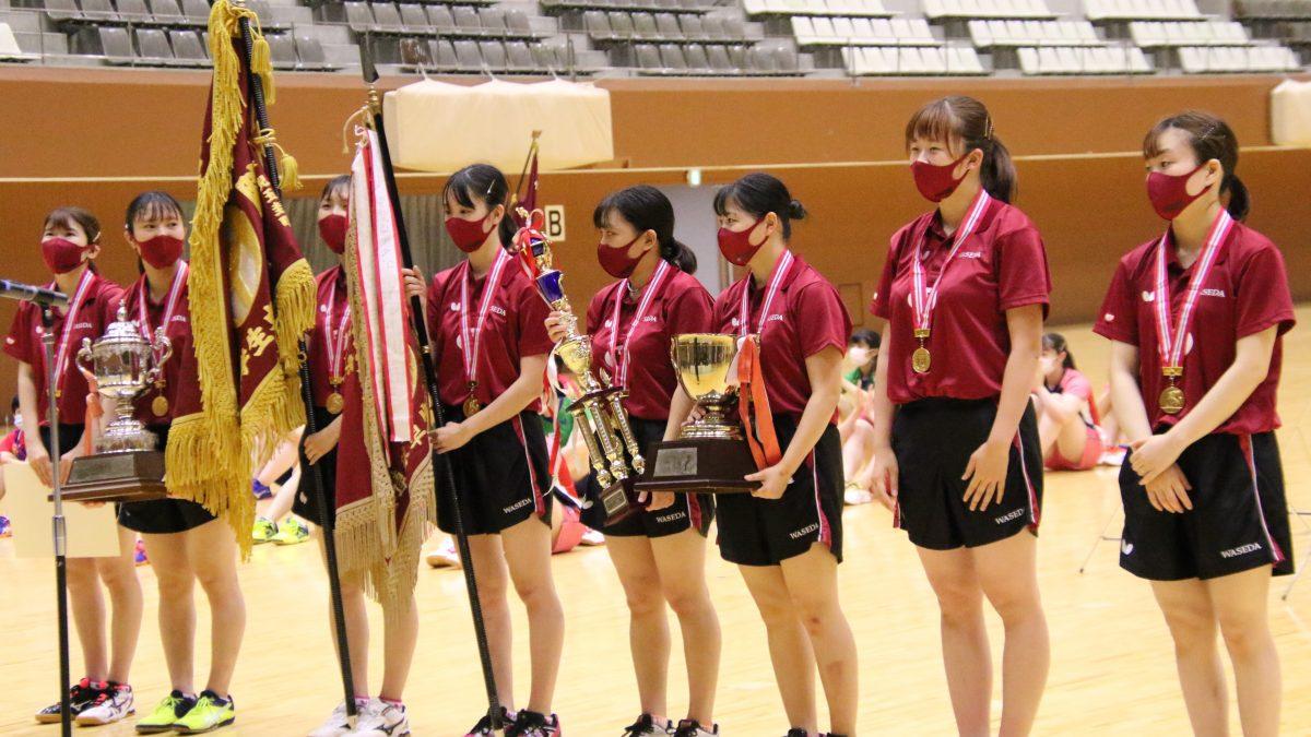3年ぶりインカレ王座奪還の早稲田女子 優勝候補連破で「文字通り学生日本一になれた」