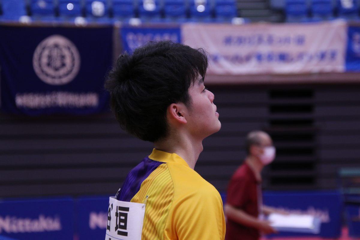 写真:谷垣佑真(愛工大名電)/撮影:ラリーズ編集部