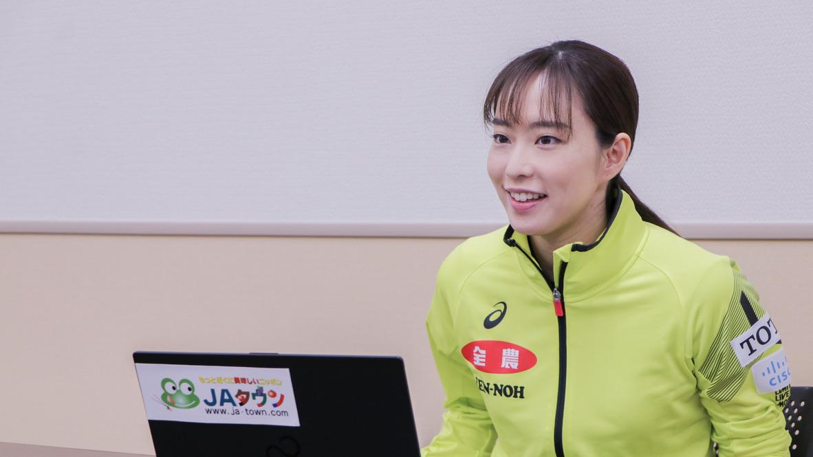 お米100俵分も 石川佳純が公式アンバサダーを務めるJAタウン、キャンペーンスタート