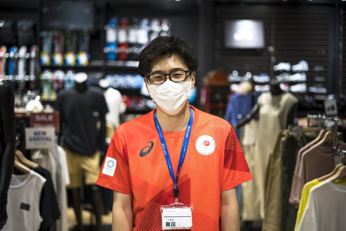 スーパースポーツゼビオ錦糸町店の小林雅之さん